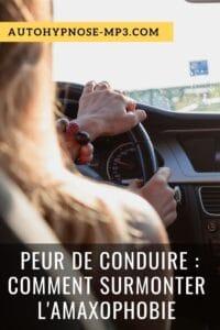 peur de conduire amaxophobie